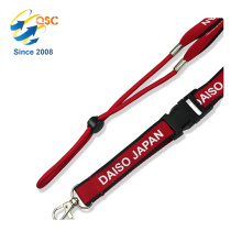 Popular Sport Band Neck Lanyard with Elastic Rope and Buckle