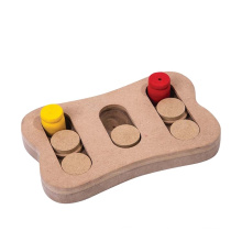 Brinquedos de madeira inteligentes para cães de design atraente