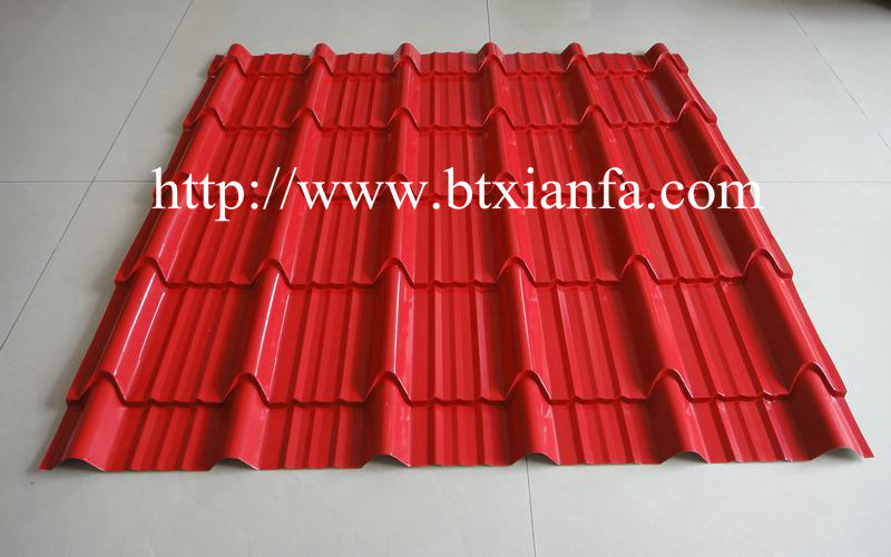 metal sheet roof tile machine 2