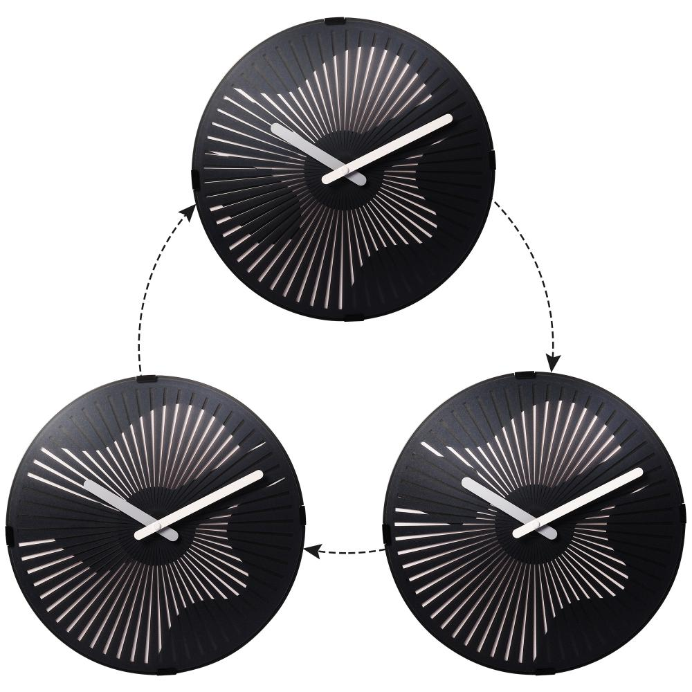 Moving Wall Clock- Guitarra