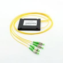 1 * 3 Одноволоконный волоконно-оптический соединитель с корпусом ABS