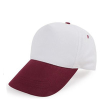 Man Polyester Twill Velcro stängning promotion Cap