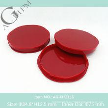 Пустые специальные формы компактный порошок дело/компактная порошок контейнера АГ-FH2156, AGPM косметической упаковки, Эмблема цветов
