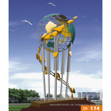 2016 Neue moderne Skulptur-Kunst-Skulptur Gute Qualitätsgarten-Landschaftsskulptur