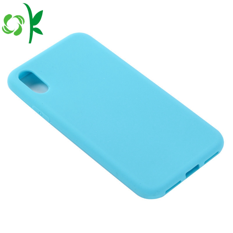 Solid Color Silicone Case