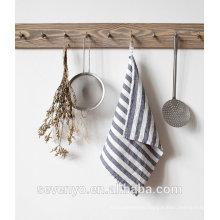 grey printing stripe pattern tea towel HT-064