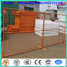6'x10' square tube modular temporary fence panels