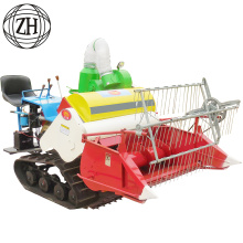 4LZ-0.6 series 0.6kg / s Feeding Capacity Mini Rice & Gandum Combine Harvester