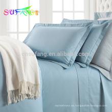 Juego de cama de alta calidad 100% PIMA de algodón suave