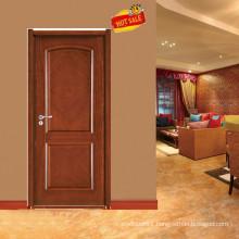 Popular design solid wood rosewood door E-S025