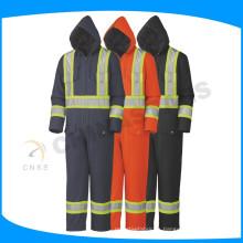 Chaleco ignífugo, ropa de trabajo ignífugo de la seguridad, ropa reflectante ignífuga