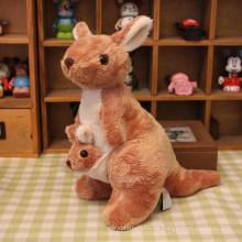ICTI factry kundenspezifischer Großhandelsbaby füllte Känguru-Spielzeug