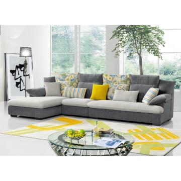 Популярные ткани уголок диван Современная мебель для гостиной