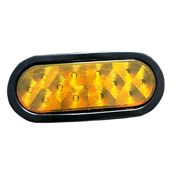 "Impermeable 6 ""Oval DOT Trailer Turn Lights"