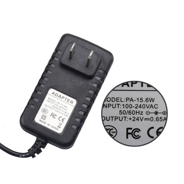24V 0.65A AC / DC Switching Adapter Φορτιστής US