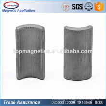 Factory Price Industrial Radial Ferrite magnets For Water Pump Generator