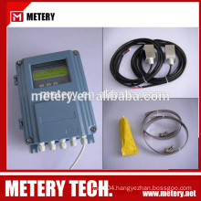 ultrasonic transducer flow meter (clamp on)