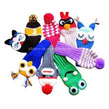 Golf Club Head Covers, Hand Crochet Golf Club Covers