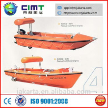rescue boat with A frame davits CCS BV