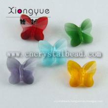 Butterfly Shape Crystal Glass Jewelry Bead Wholesale