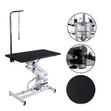 Factory Manual Clinic Hydraulic Lifting Pet Cleaning Grooming  Beauty Table For Vet Equipment