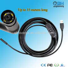 15M imperméable à l'eau numérique d'égout USB imperméable à l'eau plomberie inspection caméra