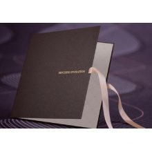 Fancy Style Customized Paper Invitation Card