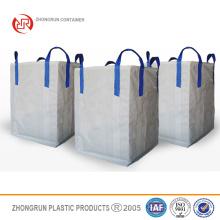 ZR CONTENEDORES -1 Ton Bulk Bag Builders Saco de escombros Jumbo Waste Storage Bag REUTILIZABLE 90x90x120cms