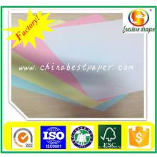 Ткань 120gsm Немелованной офсетной бумаги цвета