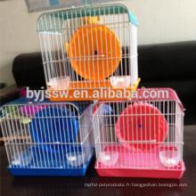 Cage acrylique de hamster / cage de hamster pas cher / cage en plastique de hamster