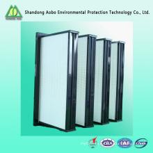 Хорошее качество Китай глубок-плиссированный фильтр приточного воздуха очиститель воздуха HEPA Н13