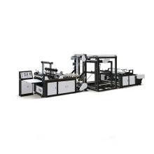 Fully Automatic Nonwoven Bag Making Machine Non Woven Fabric T Shirt Shopping Bag Machine U/D Cut Bag Making Machinery