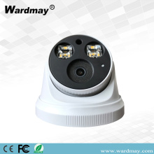H.265 5.0MP Blacklight Full Color Dome IP-camera