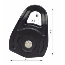 Petite poulie en aluminium forgé à chaud pour cordes de 13 mm et 16 mm