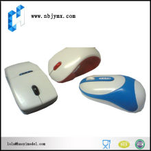 Mouse case with differant color painting plastic cnc rapid prototype