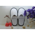 cheap soft nap fabrics personalized close toe chinese embroidered hotel slipper