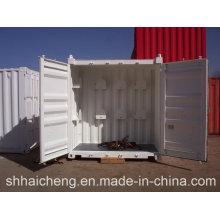 Chambre préfabriquée de récipient de paquet plat / pièce vivante de récipient / récipient