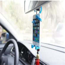 Crochet de support de téléphone cellulaire flexible pour voiture et maison