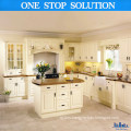 Island Style Lacquer Paint Kitchen Cabinet