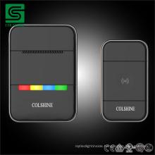 IP67 Waterproof Wireless Doorbell/ Digital MP3 Door Bell with Light