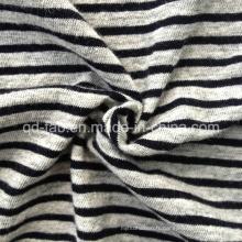 T-shirt teint en fil de lin Jersey (QF-13-0276)