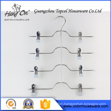 Dry Cleaning Wire Hanger Plastic Coated Hanger , Big Size Flat Wire Hanger