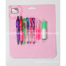 Hello Kitty Blister Card Papelaria Setau111)