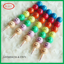 2016 hot selling non-toxic colorful multistage cute crayon