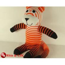 Gefüllte Plüsch weiche Spielzeug Tiger Muster