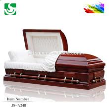 Cercueil de rose bois massif style américain