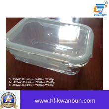 Alta qualidade caixa de vidro transparente com tampa de plástico Kb-Jh06091