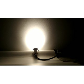 1W 12V Mini Mini Inground Lampe Einbau