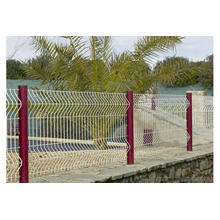 PVC Coated Wire Mesh Fence/Galvanized Wire Mesh Metal Fence
