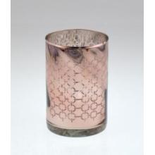 Hot Sell Glass Candle Cylinder for Christmas